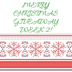 Merry Christmas giveaway week 2