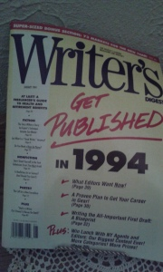 1994 copy of Writer's Digest