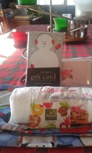 Cookie Encounter t-shirt, gift cards, thank you notes