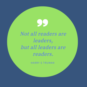 leaders are readers quote by Harry Truman