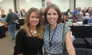 inspy romance authors Denise Hunter and Cara Putman at SOKY 2017